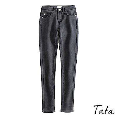超彈高腰百搭素色長褲 共二色 TATA