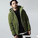 聯名款鋪棉夾克外套(3色) ZIP日本男裝