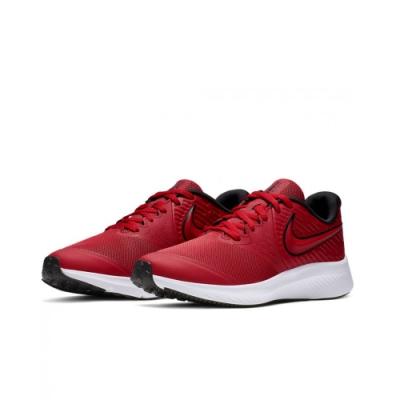 NIKE 慢跑鞋 運動 輕量 大童鞋 女鞋 AQ3542-600 Star Runner 2