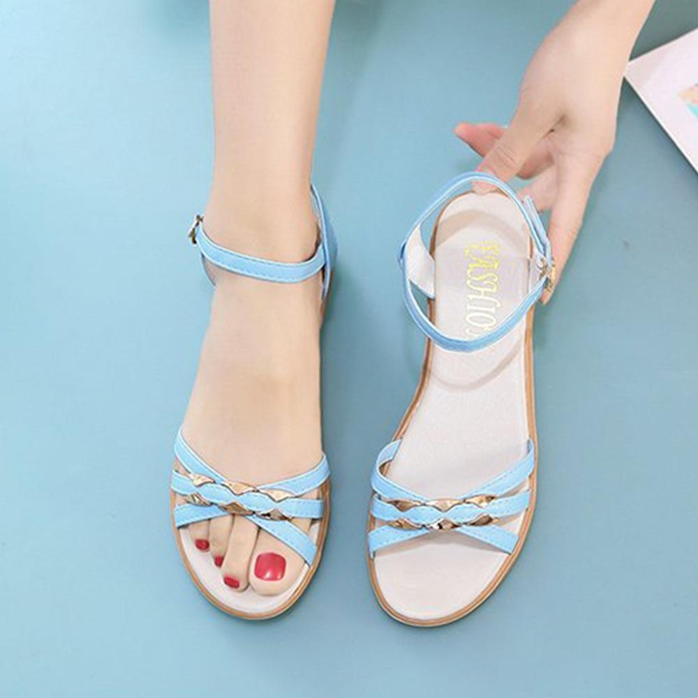 KEITH-WILL時尚鞋館-獨賣渡假氣息涼鞋(涼鞋/涼跟鞋)(共3色) (天藍色)