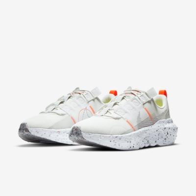 Nike 休閒鞋 Crater Impact 運動 男鞋 再生材質 環保理念 球鞋穿搭 白 淺卡其 DB2477100