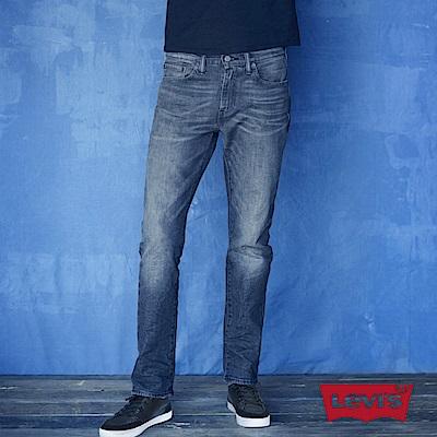 Levis 男款511低腰修身窄管牛仔長褲 重磅 赤耳 復古洗色 彈性布料