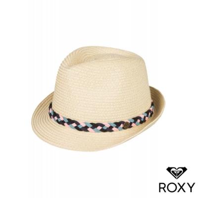 【ROXY】SENTIMIENTO 草編帽 卡其