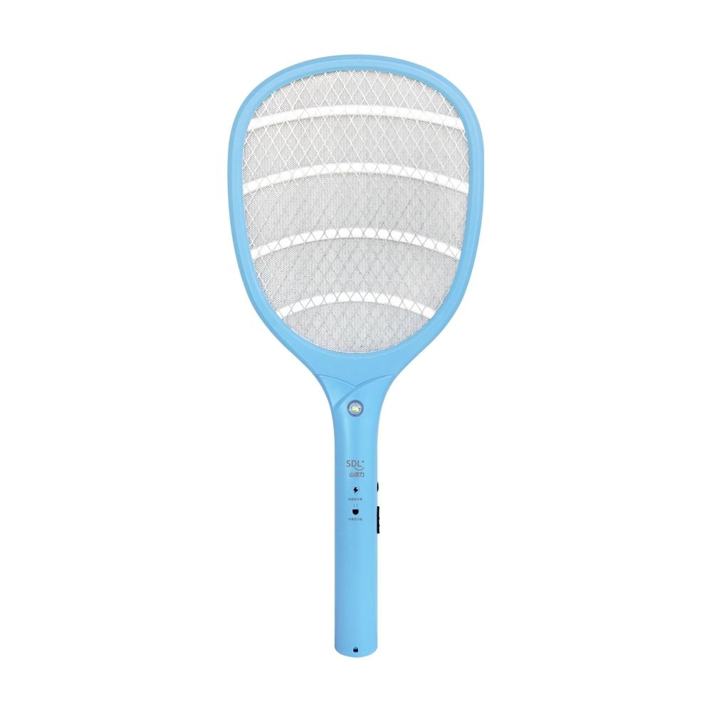 福利品 SDL山多力 3層防護網充電式捕蚊拍 SL-MS10