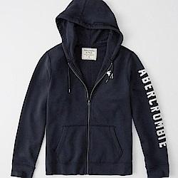 AF a&f Abercrombie & Fitch 外套 T恤 深藍色 0974