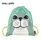 【COQENPATE】法國有機棉無毒環保布包 - 童趣輕鬆包- 海豹