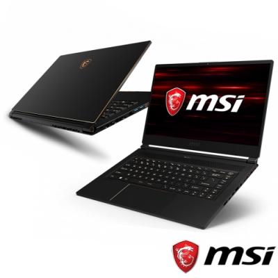 MSI微星 GS65-1023 15吋電競筆電(i7-9750H/RTX2070/32G)