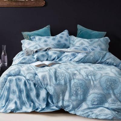 Ania Casa 禧安 天絲 100% TENCEL 雙人鋪棉兩用被套床包四件組