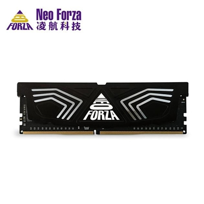 Neo Forza 凌航 FAYE DDR4 3600 16G 超頻RAM 桌上型記憶體(黑色散熱片)