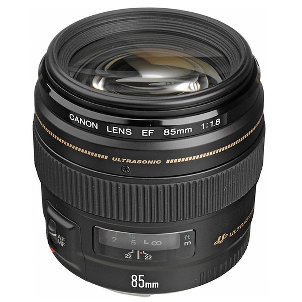 Canon EF 85mm F1.8 USM 中望遠鏡頭(公司貨)