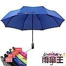 雨傘王 BIGRED太極自動開收折傘-寶藍