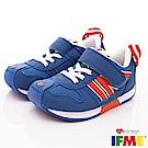IFME健康機能鞋 輕量運動款 FI71011藍色(小童段)