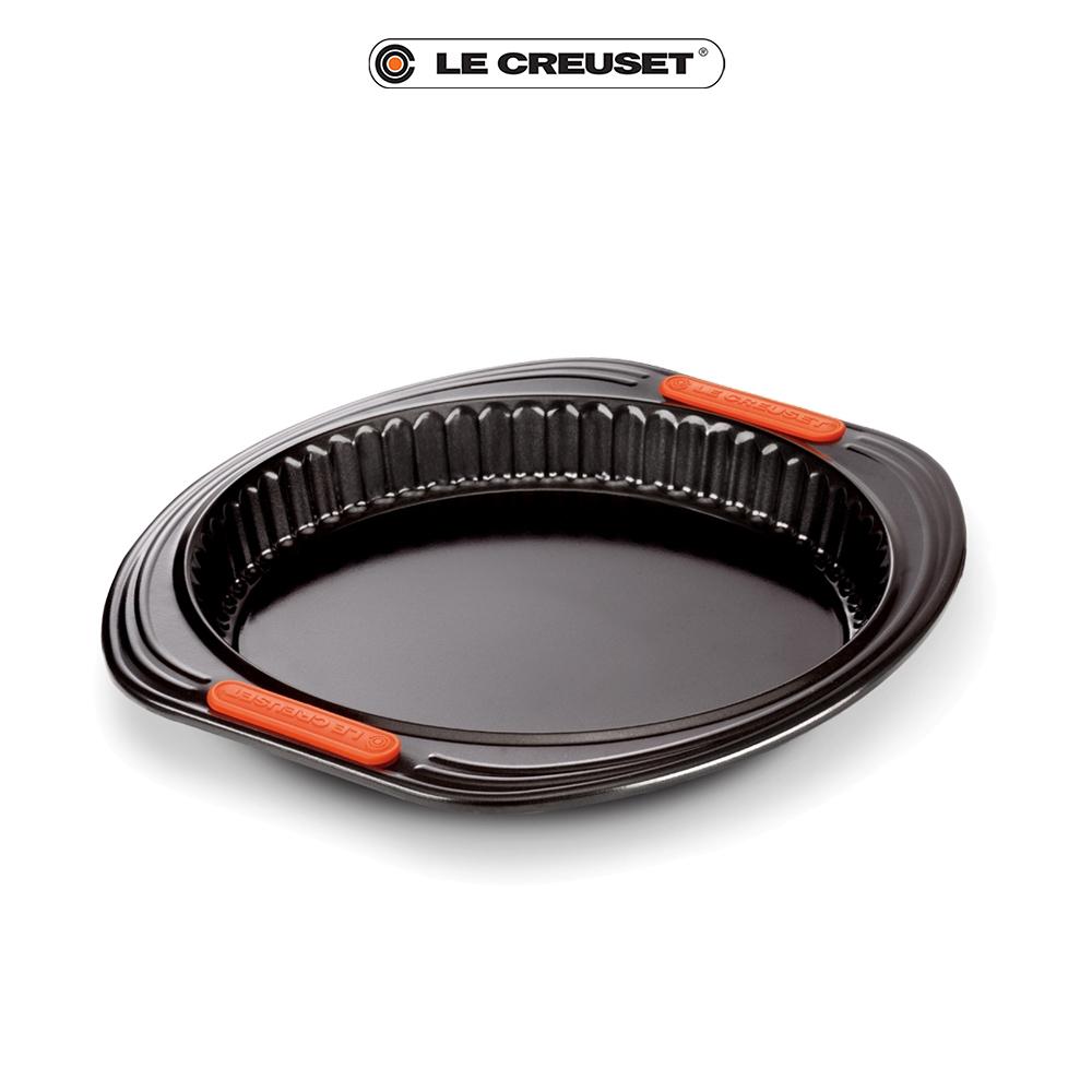LE CREUSET 圓形波浪烤盤 26x26x3cm