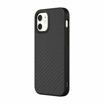 犀牛盾 iPhone 13 mini(5.4吋) SolidSuit防摔背蓋手機殼-碳纖維紋路