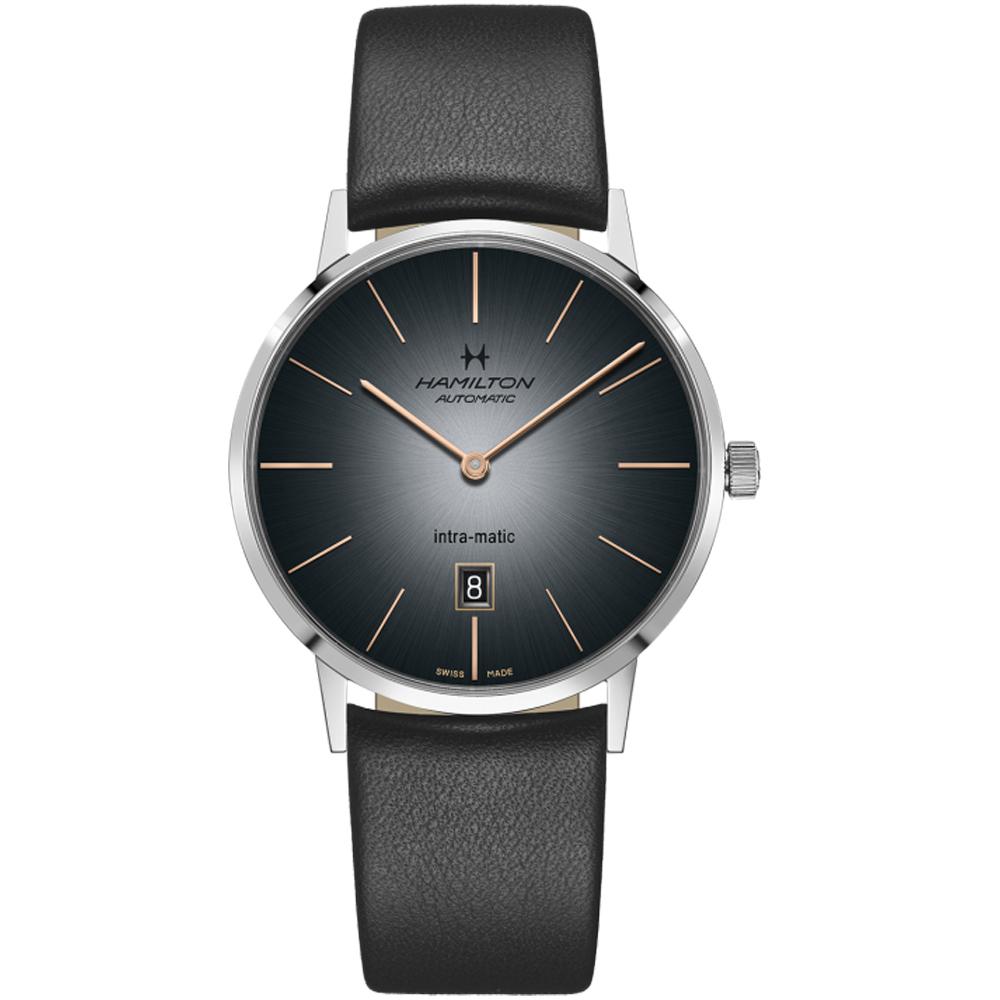 Hamilton 美國經典系復刻機械腕錶(H38755781)灰/38mm