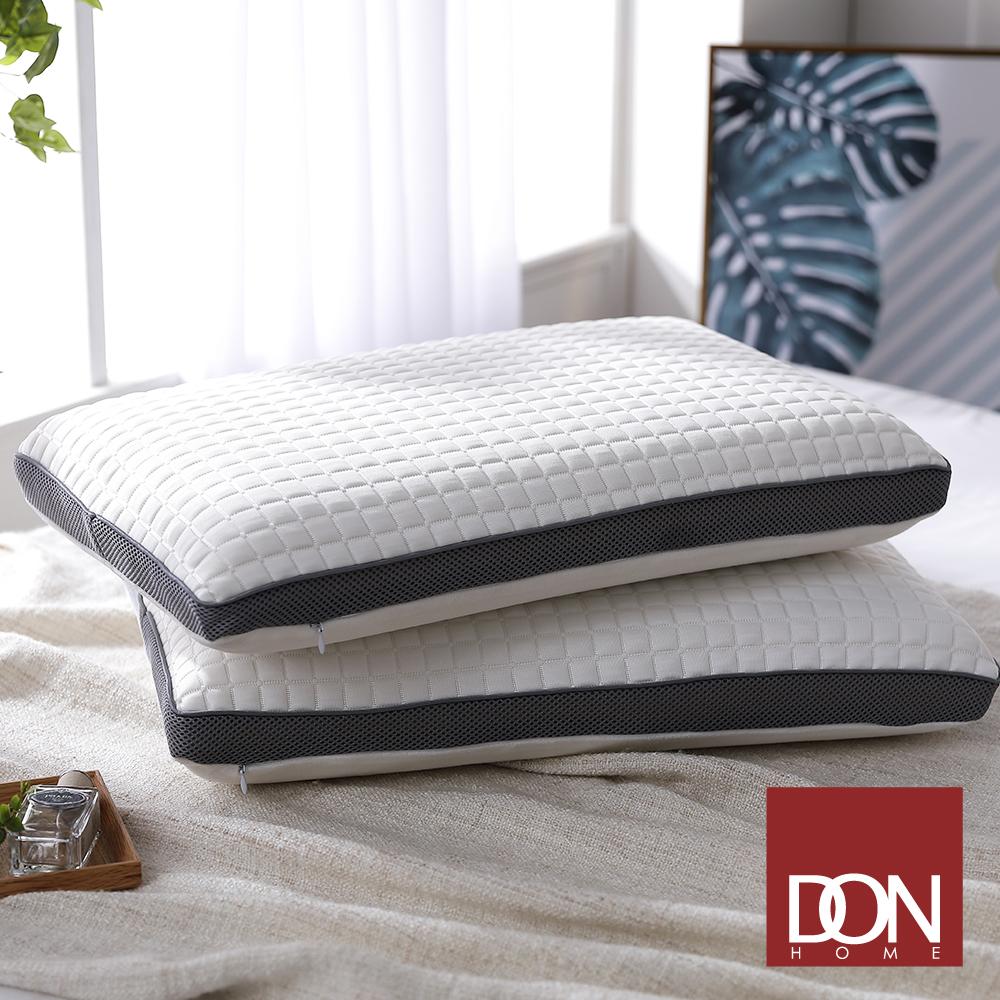 【DON】 涼感釋壓記憶枕(平面式)-二入