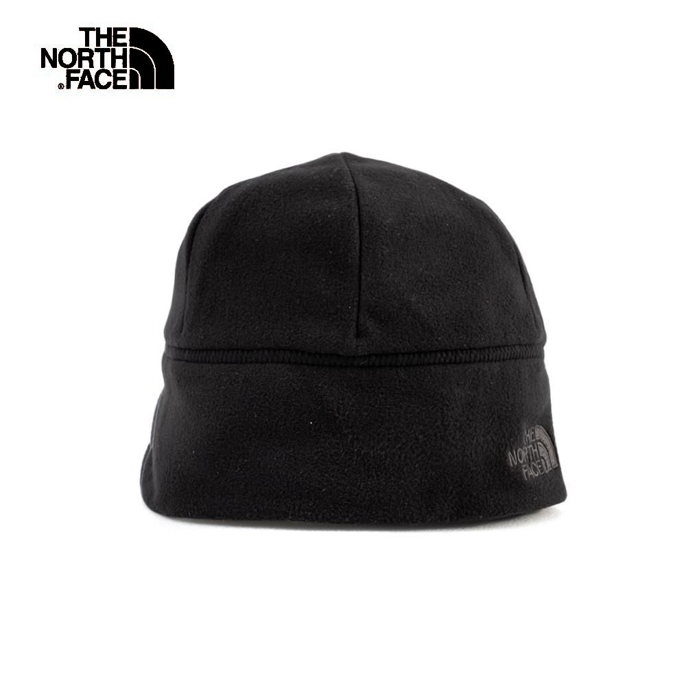 The North Face北面黑色雙面穿戴保暖針織帽|3FI7KT0