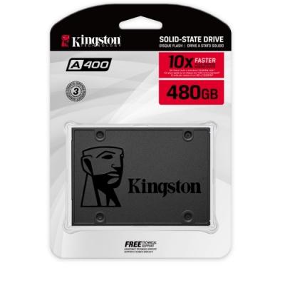 """金士頓 Kingston SA400S37/480G A400 SATA3 2.5"""" 480G SSD 固態硬碟"""