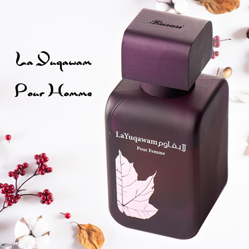 La Yuqawam Pour Femme濃情 檀香與黑醋栗 女香75ml