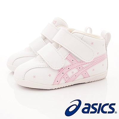 亞瑟士SUKU 2 機能鞋 護踝穩定款 ON 23 - 101 白(寶寶段)