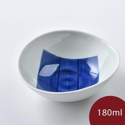 康創陶 和食器 前菜碗 藍色一片 180ml