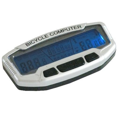 月陽超大視窗防潑水背光溫度顯示自行車里程計數碼表(SD-558B)