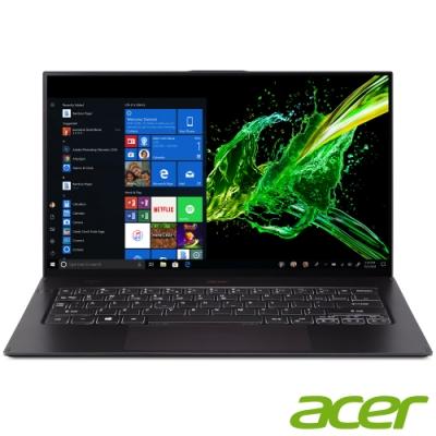 Acer SF714-52T-748F 14吋筆電(i7-8500Y/16G/黑/福