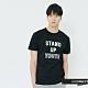 H:CONNECT 韓國品牌 男裝-休閒印字T-shirt-黑(快) product thumbnail 1