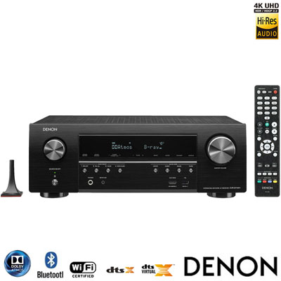 DENON 7.2聲道Dolby Atmos AV環繞擴大機 AVR-S740H