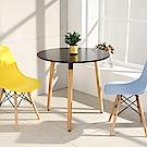 LOGIS邏爵- 自然簡約北歐60CM圓形桌/ 圓桌/ 工作桌/ 書桌/ 休閒桌