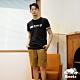 Roots男裝-復古翻玩系列 經典LOGO短袖T恤-黑色 product thumbnail 1