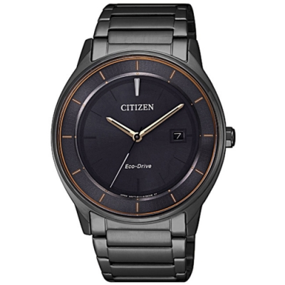 CITIZEN 星辰GENTS 光動能摩登日期顯示腕錶(BM7407-81H)