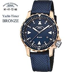 格拉蘇蒂·莫勒 航海系列 M1-41-72-NB 青銅機械男錶