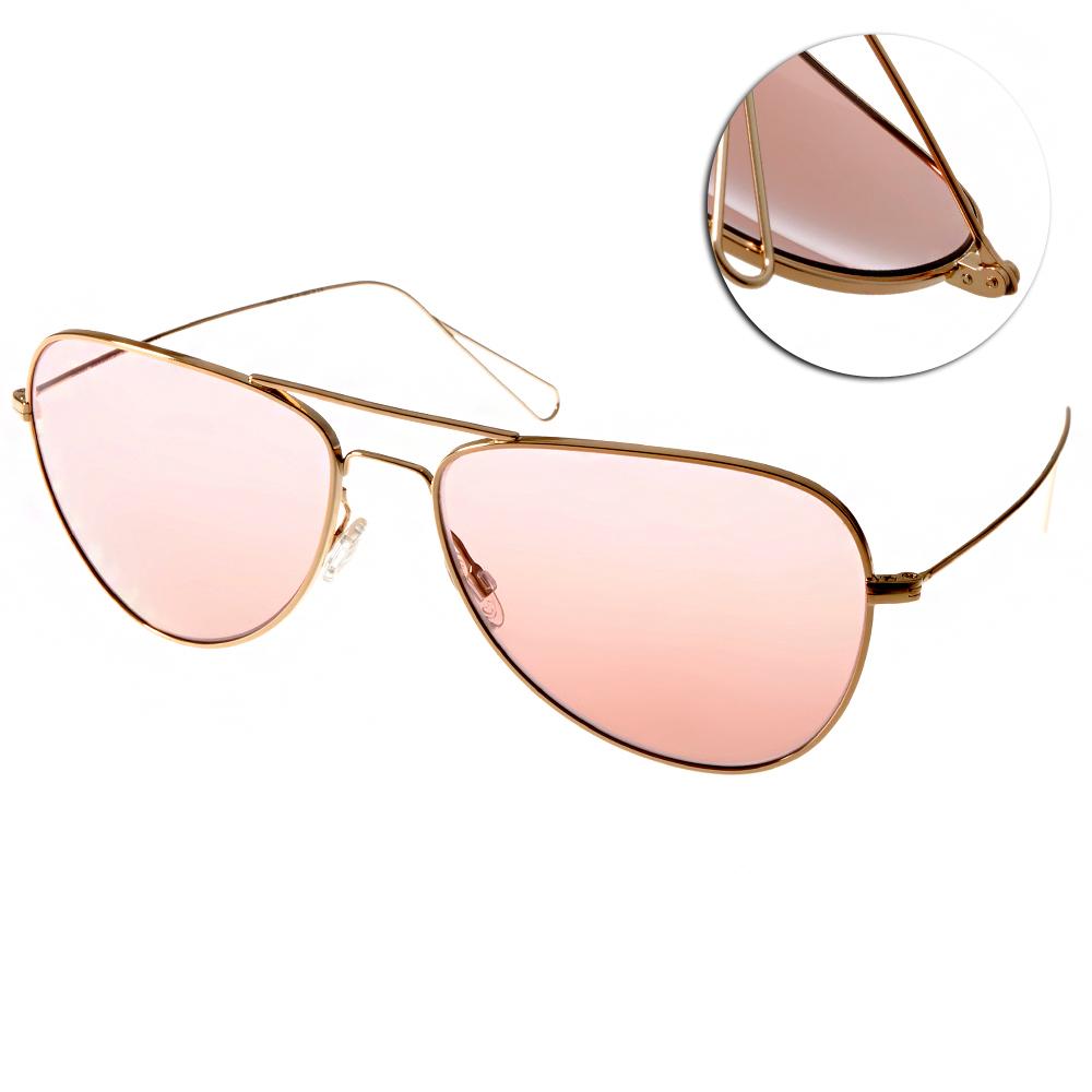 OLIVER PEOPLES太陽眼鏡 復古經典/金 #MATT 503784