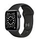 Apple Watch Series 6 (GPS) 40mm 太空灰鋁金屬錶殼+黑色錶帶(MG133TA/A) product thumbnail 1
