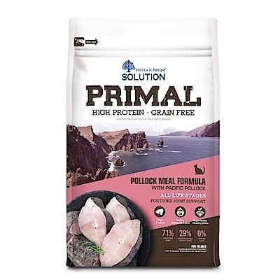 耐吉斯 源野高蛋白 無穀全齡貓 鱈魚配方 3磅 兩包組