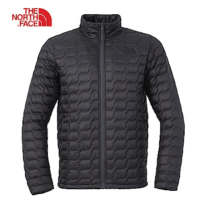 The North Face北面男款黑色防潑水保暖外套|3L8C7VJ