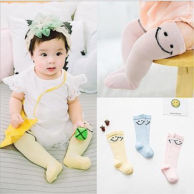 baby童衣 寶寶襪 全棉微笑網眼松腿襪 88032