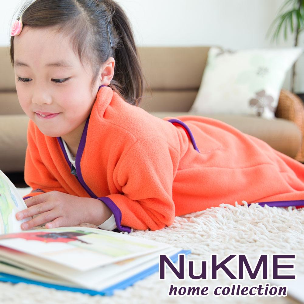 棉花田 NuKME 兒童時尚多功能創意袖毯-多色可選