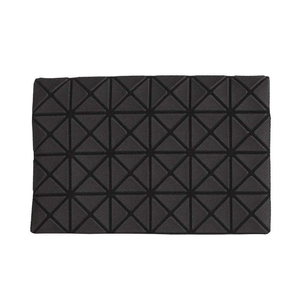 ISSEY MIYAKE  BAOBAO 幾何方格4x6名片夾(霧黑)