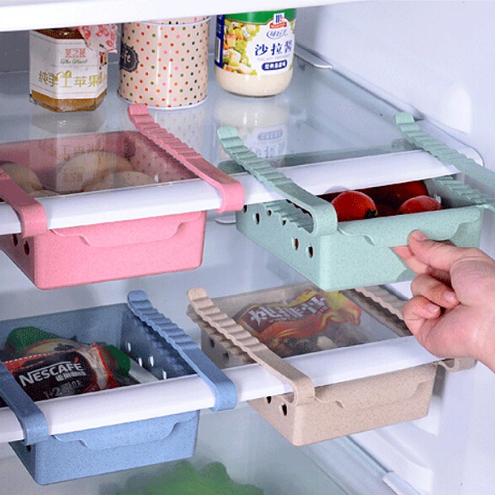E-dot 北歐風抽屜式冰箱隔板小麥收納盒(三色選)