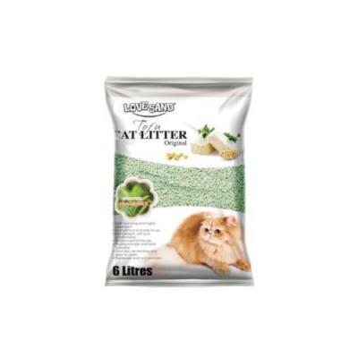 LOVE SAND莉莎-綠茶凝結豆腐環保砂 6L(2.8KG)