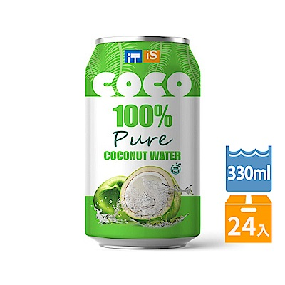 ITIS 純椰子水(330mlx24罐)
