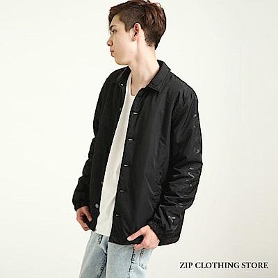 印花鋪棉外套(1色) ZIP日本男裝