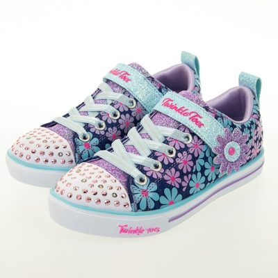 SKECHERS 女童系列 SPARKLE LITE 燈鞋 - 314761LDMLT