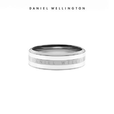 【李聖經配戴款】DW 戒指 Classic Ring 經典奢華戒指 簡約銀x白