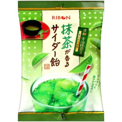 Ribon 抹茶蘇打風味糖(65g)