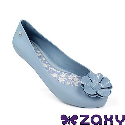 Zaxy 巴西 女 優雅茉莉 平底鞋 藍