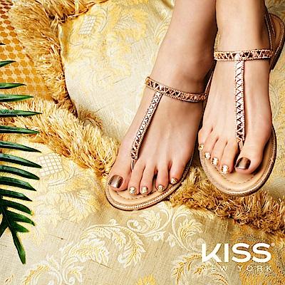 KISS New York-Press&Go足部指甲貼片-賽姬圓舞曲(KPT02K)