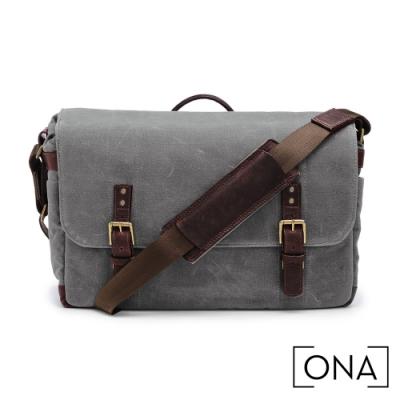 ONA Union Street 專業相機包(1機3鏡,15吋筆電適用) - 煙灰
